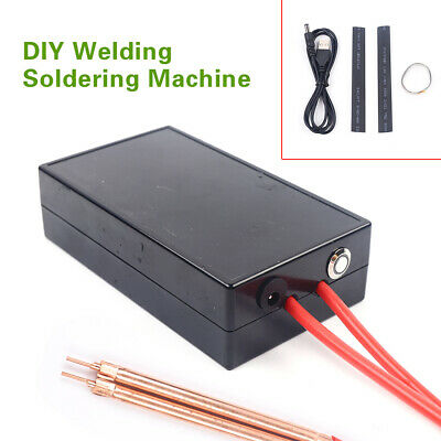 Portable Spot Welder Integrated Welding Battery Spot Welder Kit 3.7v Charger