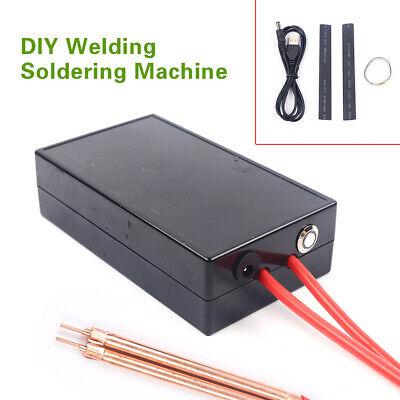 Diy Portable Mini Spot Welder Machine Kit Battery Welding Device W 5v Charger