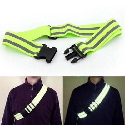 High Visibility Night  Running Jogging Biking Reflective Stripe Gear Walking