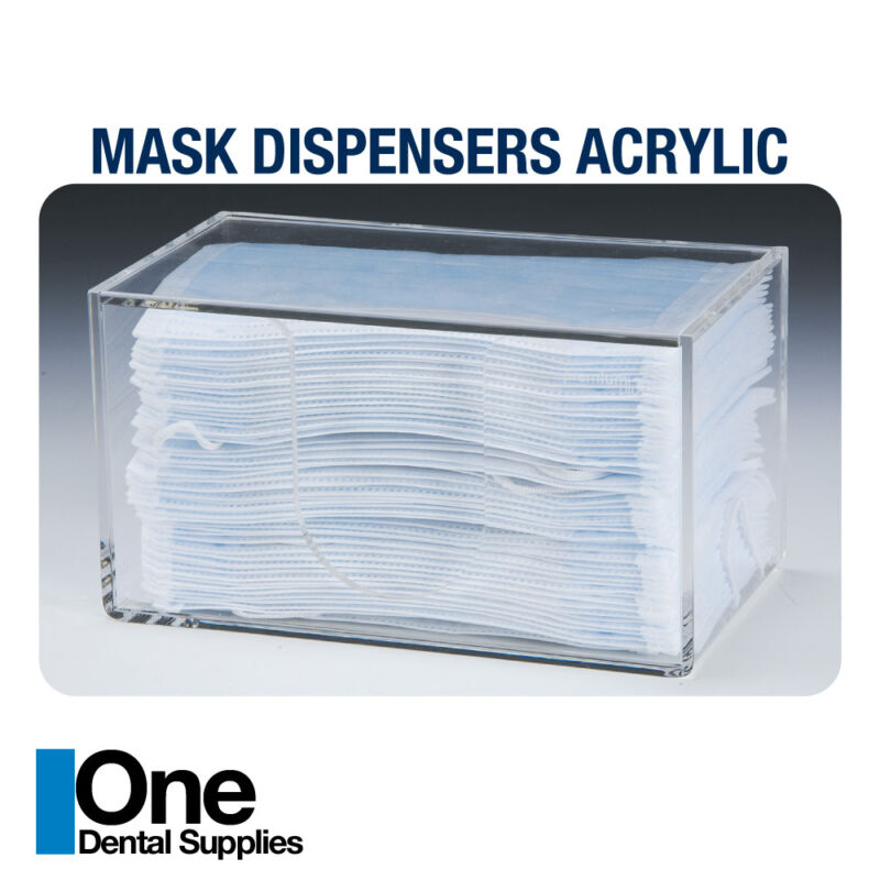 Dispenser Acrylic for mask (masks not included)