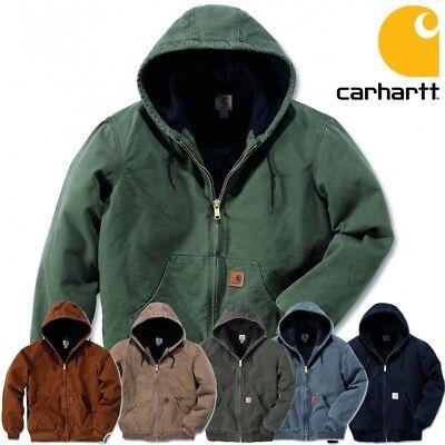 Carhartt Herren Men Winterjacke Jacke Jacket Sandstone Active Quilt Flannel NEU Carhartt Sandstone Active Jacket