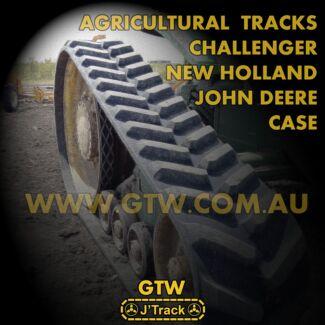 Agricultural/Tractor Rubber Tracks - Challenger, John Deere etc.