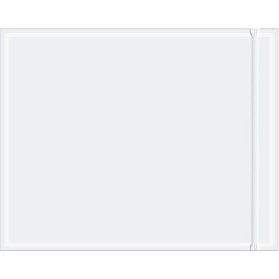 Box Partners Packing List Envelope 8 X 10 Resealable Clear 500case Rcf810