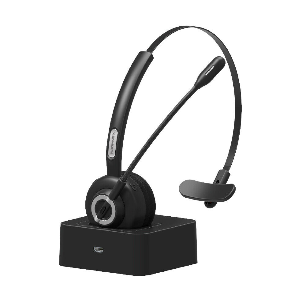 Trucker Bluetooth Headset Wireless Chat Headset with Mic for