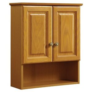 Oak Bathroom Wall Cabinets. Design House Claremont Bathroom Wall Cabinet With 2 Doors Honey Oak