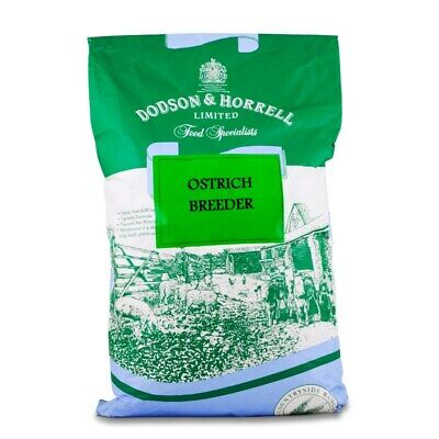 Dodson & Horrell Ostrich Breeder Pellet Feed For A Healthy Lay & Hatching - 20kg