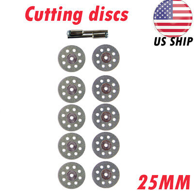 102 Diamond Cutting Wheels Kit For Dremel Rotary Tool Die Grinder Metal Disc 1