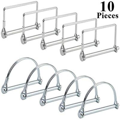 Shaft Locking Pin Square Arch 10 Pcs Safety Coupler 2 Shapes Farm Trailers Wagon