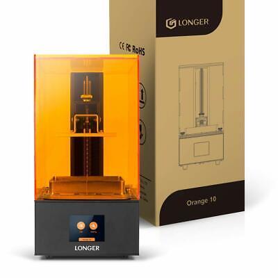 Longer Orange 10 Resin 3D Printer LCD DIY Kit 2.8in Touch Screen Matrix UV Light