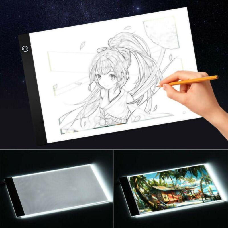 LED Tracing Light Box Board Art Tattoo Drawing Pad Table Dia