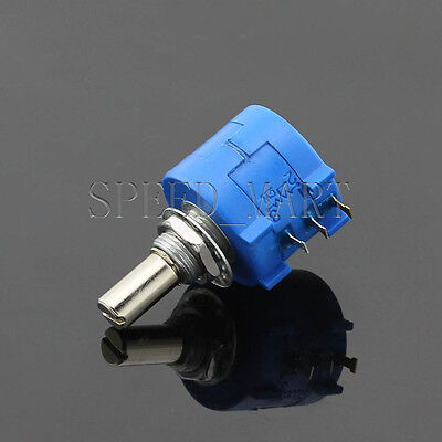 10k Ohm 3590s-2-103l Rotary Wirewound Precision Potentiometer Pot Multiturn