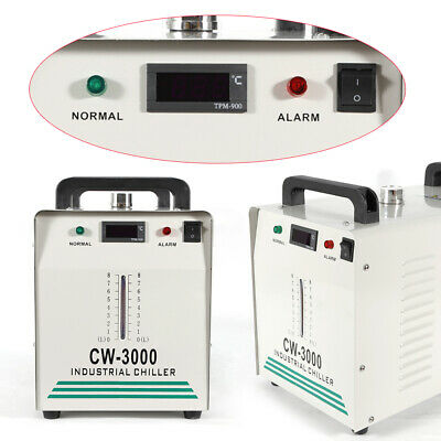 Cw3000 Industry Water Chiller For Co2 Laser Plasma Engraver Cutting Machine 110v