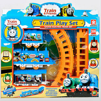 Best New Trains Cars Kids Toys Train Set And Friends Electric Track (Best Toy Train Set)