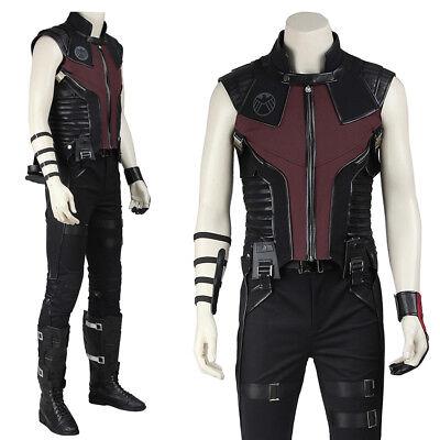 Captain America Civil War Clint Barton Hawkeye Cosplay Costume Custom Made - Clint Barton Costume