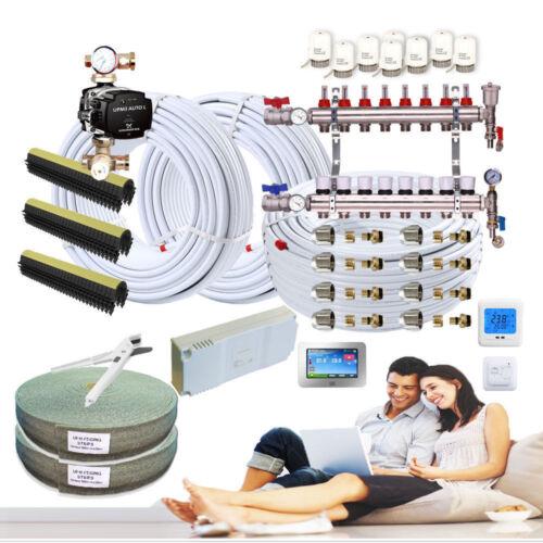 FULL Water Underfloor Heating Under Floor Multi Zone / Room Kit 40 - 240 sqm