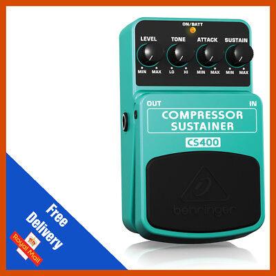 Behringer CS400 Compressor/Sustainer Guitar Effects Pedal