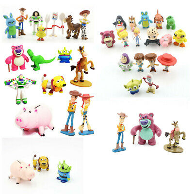 Toy Story Woody Buzz Lightyear Jessie Bulleye Figures Cake Topper Toys Gift Set - Woody Toy Story Jessie