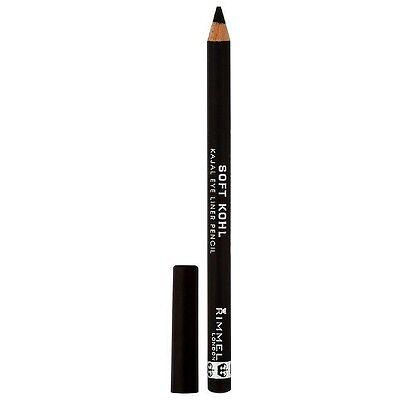 Rimmel Soft Kohl Kajal Eye Pencil, Jet Black