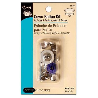Dritz Cover Button Kit Size 20 (1/2