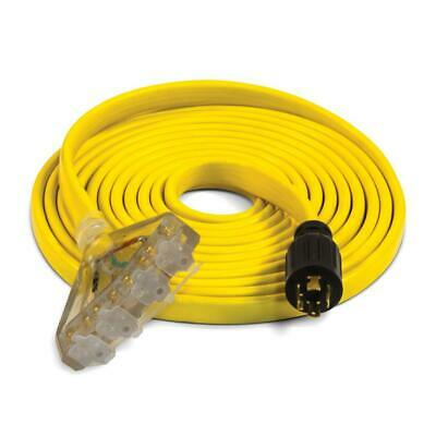 Champion Power Equipment Fan-style Flat Generator Extension Cord 25-ft 30-amp