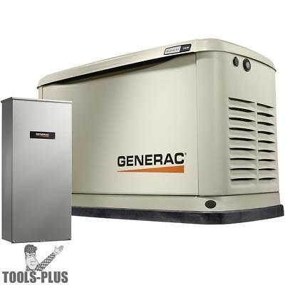 Generac 7032 11/10KW Guardian Standby Generator w/ Automatic Transfer Switch New