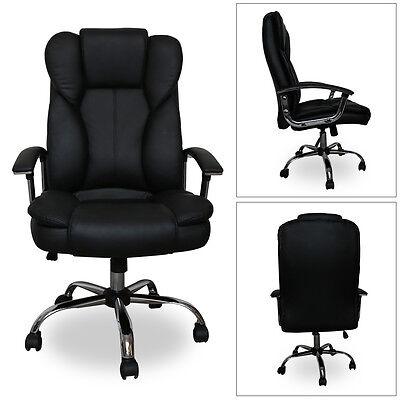 Hochwertige Chefsessel Bürostuhl Computerstuhl Racer Sessel Belastbarkeit 200 kg