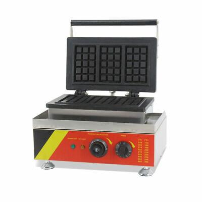 belgian waffle maker iron baker machine
