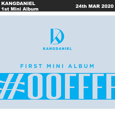 KANGDANIEL CYAN 1st Mini Album 2SET CD+Photobook+Photocard+Etc+Tracking DanielK