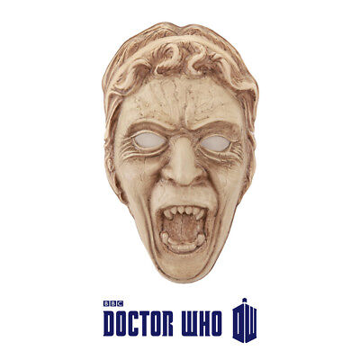 Official BBC Doctor Who Weeping Angel Cosplay Fancy Dress vacuform Mask ](Doctor Who Weeping Angel Mask)