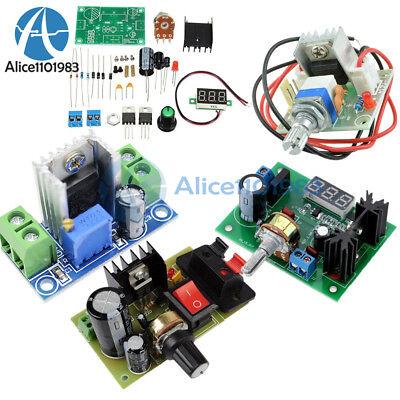 Led Voltmeterlm317 Voltage Regulator Step Down Diy Kit Dc Power Supply Module