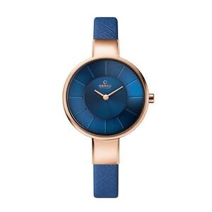OBAKU V149LXVLRA Women's Blue Dial Classic Analog Watch with 2 H
