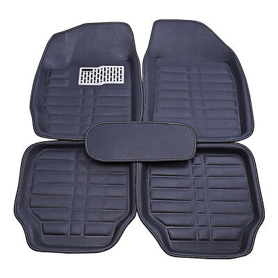 5Pc Universal Car Floor Mats Front   Rear Liner All Weather Auto Waterproof Mat