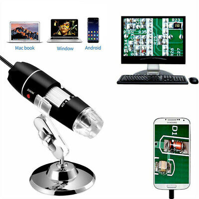 3 In 1 8led 1600x Digital Microscope Ear Cleaning Tool Endoscope For Android Mac