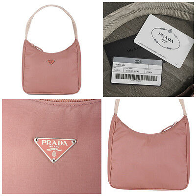 $250 NEW PRADA BAG IN ROSE STUNNING COLOR W/ AUTHENTICITY CARDS