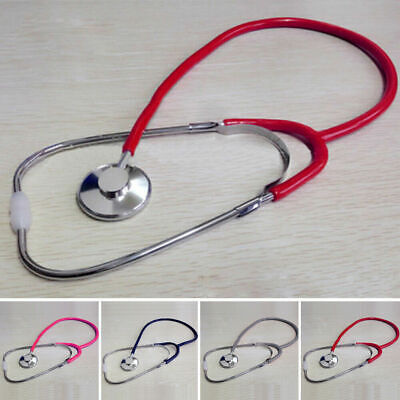 60cm Single Headed Stethoscope Doctor Nurse Aid Vet Medical Monitor Tools Device