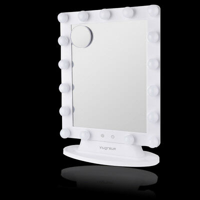 Makeup Vanity Mirror 17LED Dimmer Table Light Hollywood Stage Beauty Dimmable](Mirror Table)