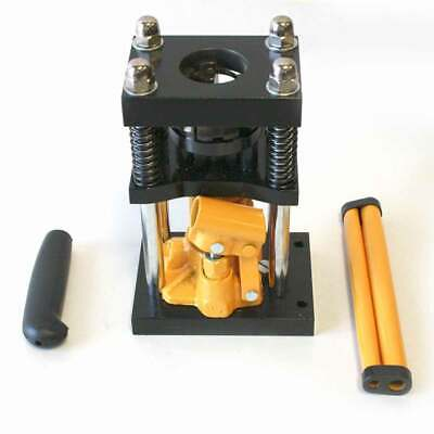 H10-4 Manual Benchtop Hydraulic Jack Air Hose Crimper - 14 Inch To 516 Inch
