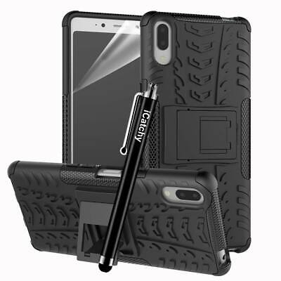 Case for Sony Xperia L3 Phone Hybrid Shockproof Rugged Armor Experia Stand Cover