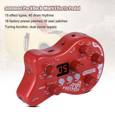 US PockRock Virtual Guitar USB Multi-effects Processor Effect Pedal Senior C7F4