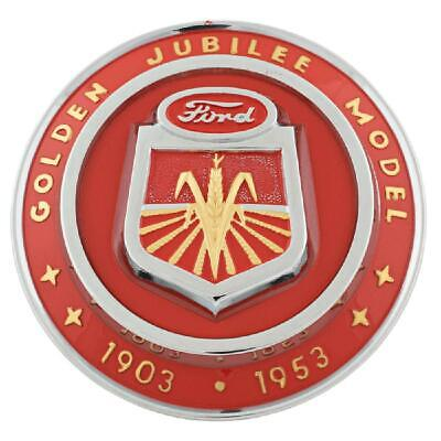1953 Hood Emblem Fits Ford Tractor Golden Jubilee Naa16600a
