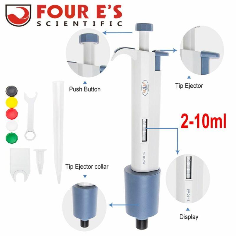 Micropipette 2-10ml Single Channel Pipettor Adjustable Volume Pipette Laboratory