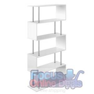 5 Tier Display/Book/Storage Shelf Unit White or Black North Melbourne Melbourne City Preview