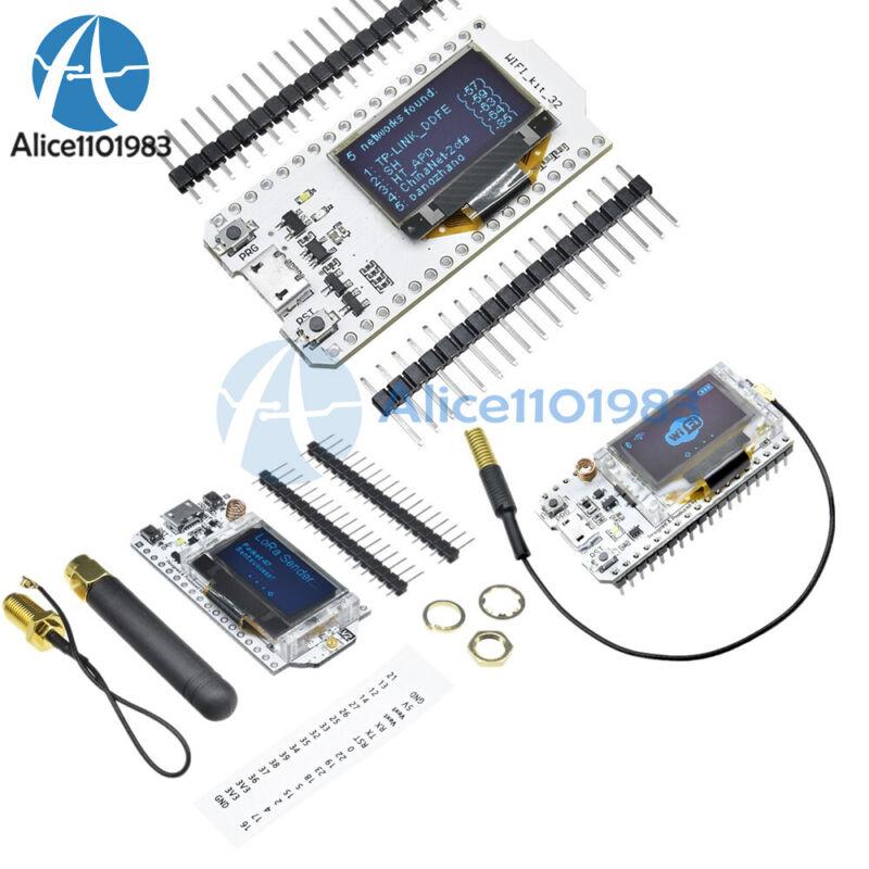 0.96in Lora Esp32 Sx1276 Sx1278 Oled Wifi Bluetooth Cp2102 Module For Arduino Ml