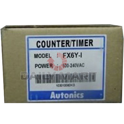 New Autonics Counter Fx6y-1 Ac220v Programmable Logic Controller Counter Timer
