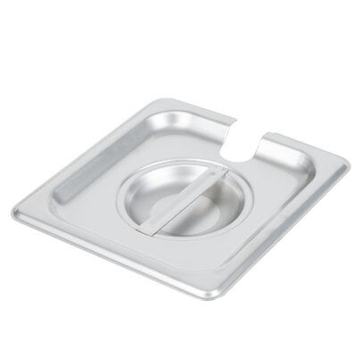 16 Size Stainless Steel Slotted Steam Table Hotel Pan Lid Cover
