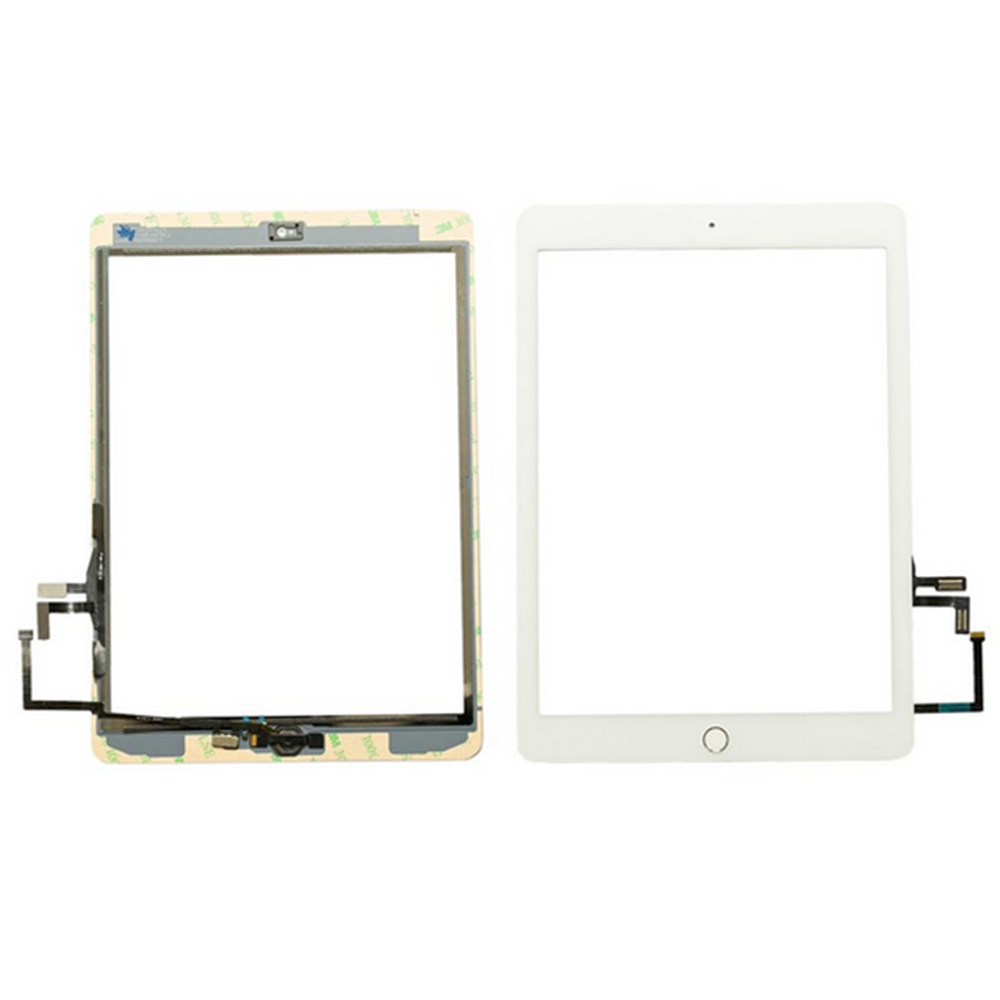 For iPad 5th Gen 2017 A1822 A1823 Touch Screen Digitizer Lens Glass Replacement white