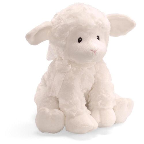 Gund Baby Lena Lamb Musical Toy, Brahms Lullaby , New, Free