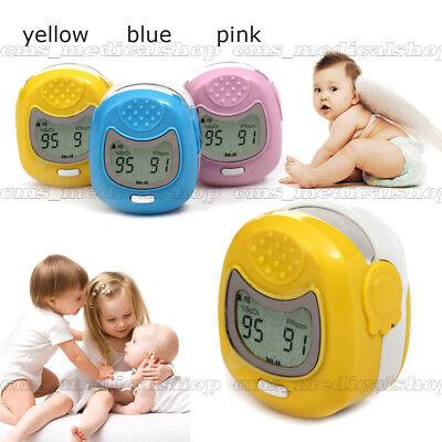 Contec Pediatricchild Fingertip Pulse Oximeter Lcd Displayspo2 Oxygenfor Baby