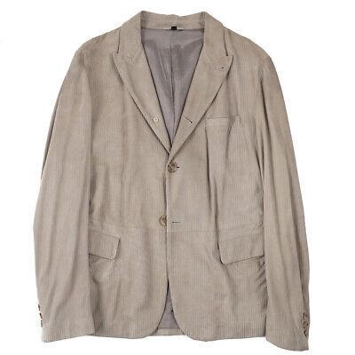 $4495 Giorgio Armani Black Label Lambskin Leather Jacket Slim XL Blazer