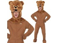 "80's Bungle Bear Fancy Dress Costume 80s Rainbow TV Outfit M 38-40"" by Smiffys Brand New"